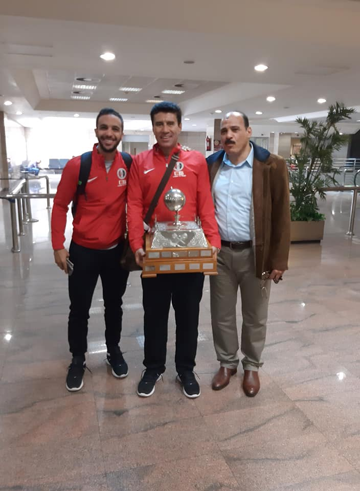 محمد ابو الغار  مع امير وجيه