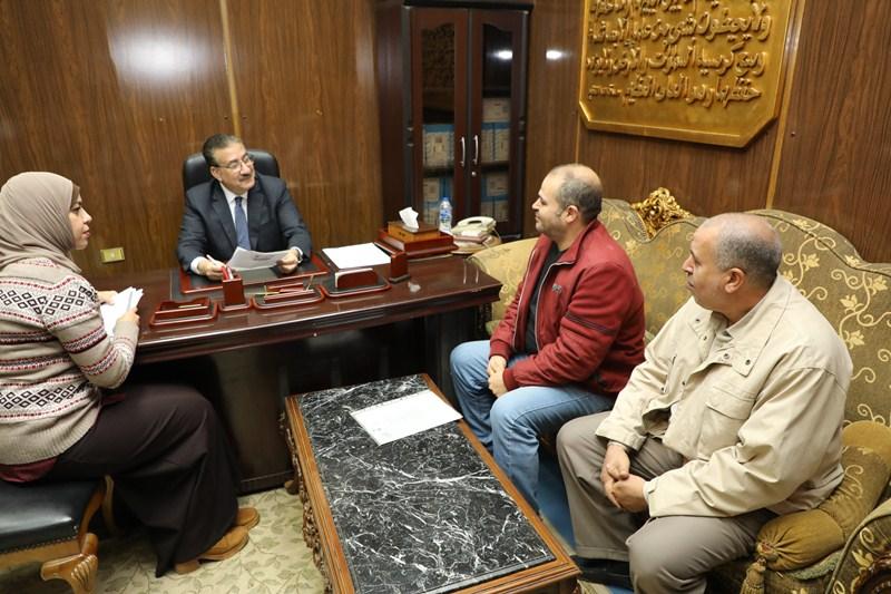 لقاء محافظ المنوفية بالمواطنيين (3)