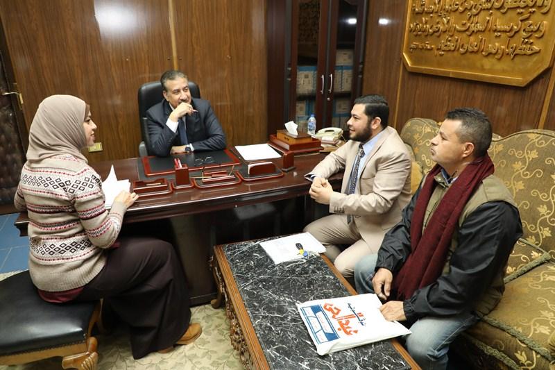 لقاء محافظ المنوفية بالمواطنيين (4)