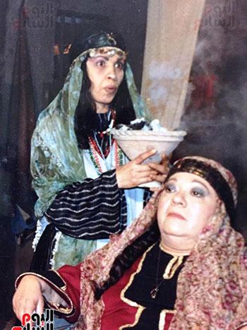 عائشة الكيلانى مع إحسان القلعاوى
