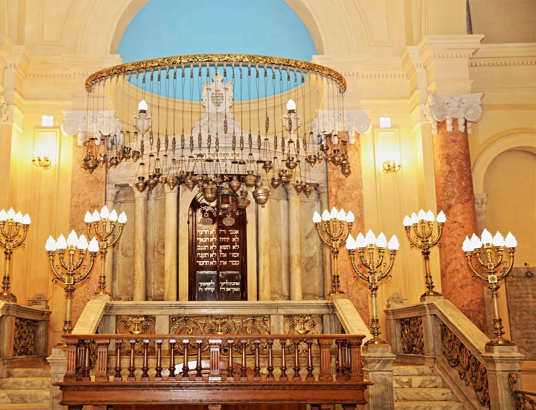 نتيجة بحث الصور عن افتتاح المعبد اليهودي في الإسكندرية بعد ترميمه لأول مرة منذ عام 1881