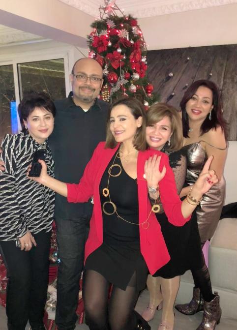 كارول سماحة تحتفل بالكريسماس