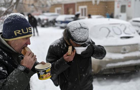 توزيع الطعام