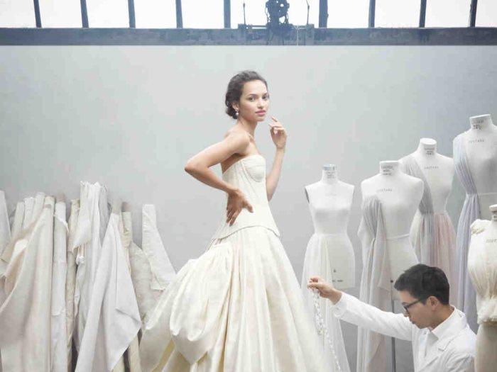 تصميم فستان زفاف