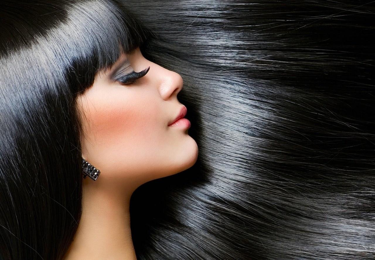 شعر أسود