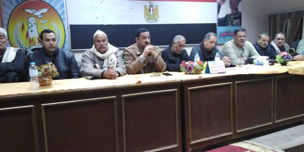 جلسة صلح بين عائلتين بإحدى قرى مركز تلا  (6)