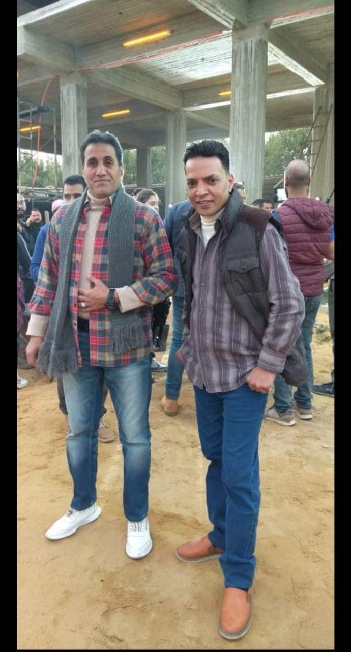 أحمد شيبة وطارق الشيخ في كواليس دويتو