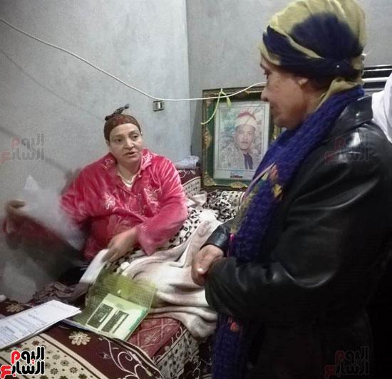 الحكومة تستجيب لاستغاثة سيدة لإجراء مسح ذرى لإصابتها بالسرطان  (6)
