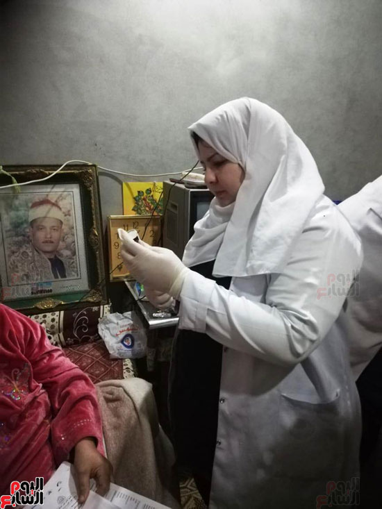 الحكومة تستجيب لاستغاثة سيدة لإجراء مسح ذرى لإصابتها بالسرطان  (5)
