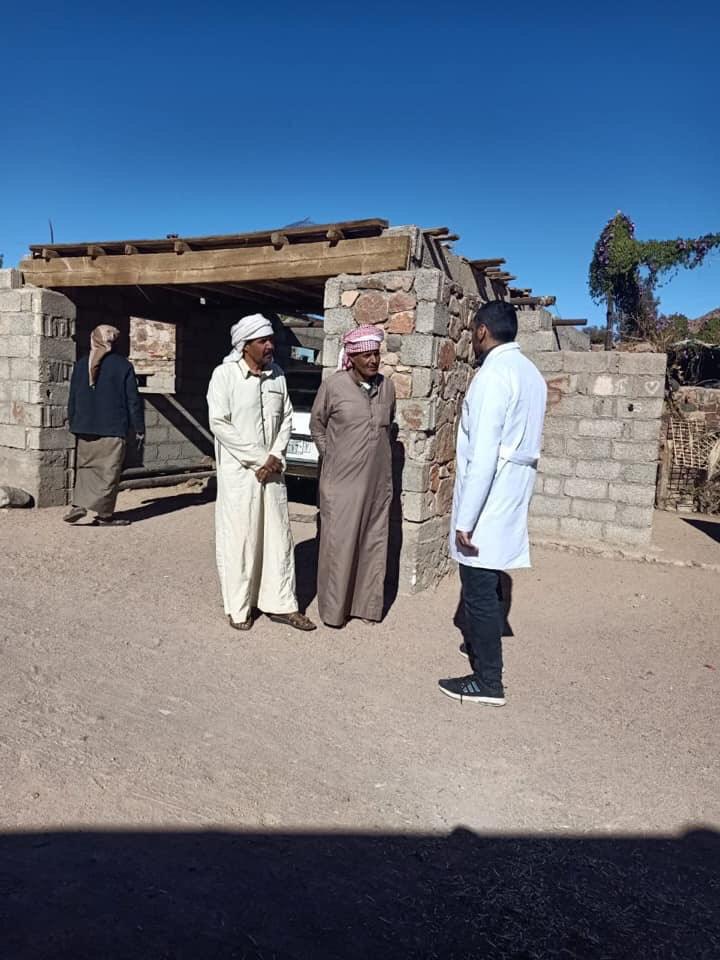 تسجيل المواطنين بالتأمين الصحى الشامل بجنوب سيناء (5)
