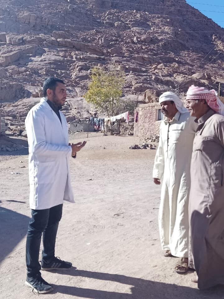 تسجيل المواطنين بالتأمين الصحى الشامل بجنوب سيناء (6)