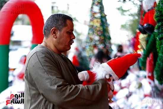 بيع زينة الكريسماس