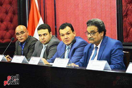الجلسة الثالثة للحوار الوطنى للأحزاب لمستقبل وطن (2)