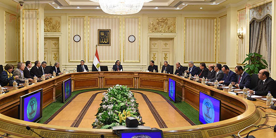 لقاء الدكتور مصطفى مدبولي رئيس الوزراء مع الكتاب والصحفيين