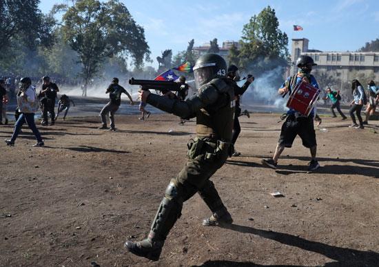 قوات الأمن في تشيلى