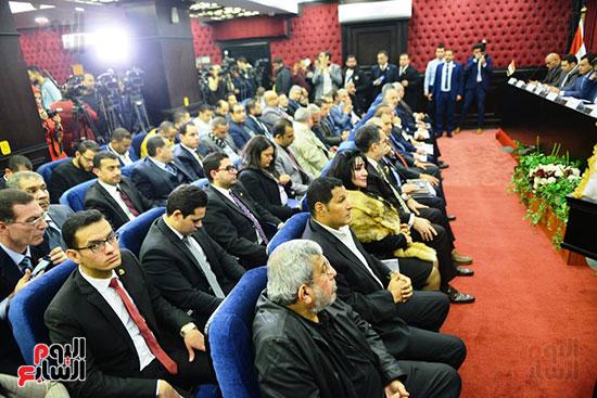 الجلسة الثالثة للحوار الوطنى للأحزاب لمستقبل وطن (20)