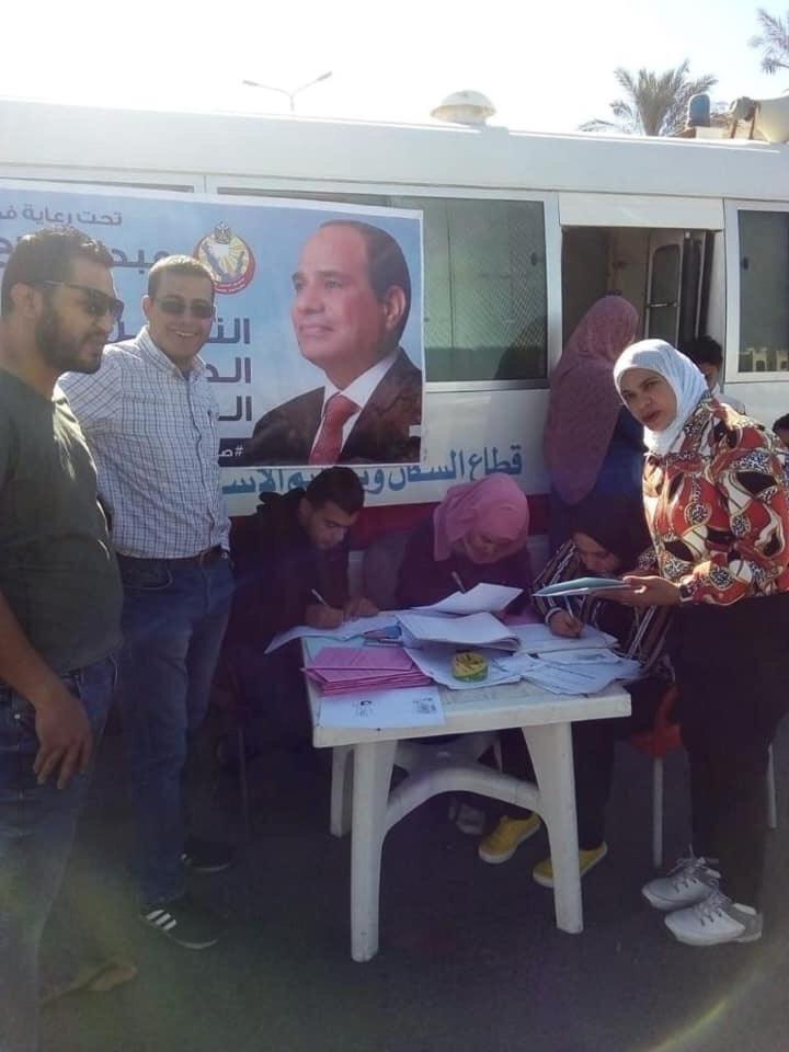 تسجيل المواطنين بالتأمين الصحى الشامل بجنوب سيناء (3)