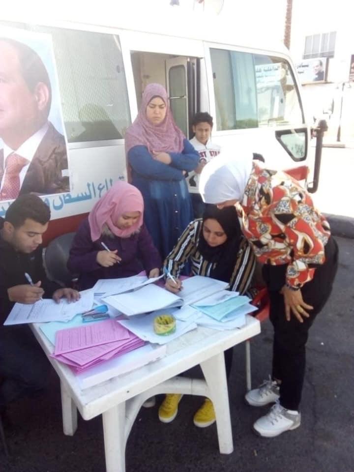 تسجيل المواطنين بالتأمين الصحى الشامل بجنوب سيناء (1)