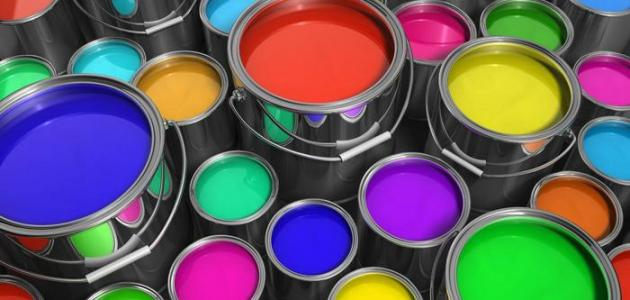 الألوان المختلفة