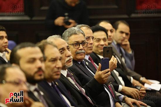 الجلسة الثانية للحوار الوطنى للأحزاب المصرية (3)