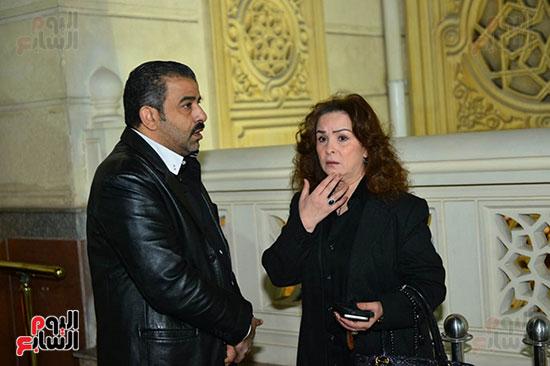 عزاء زوجة عبد الرحمن أبو زهرة (1)