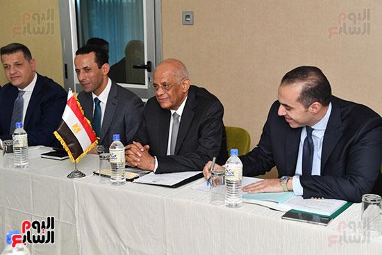 عبد العال يلتقى رئيس المجلس التشريعى الانتقالى بالإنابة بجنوب السودان (16)