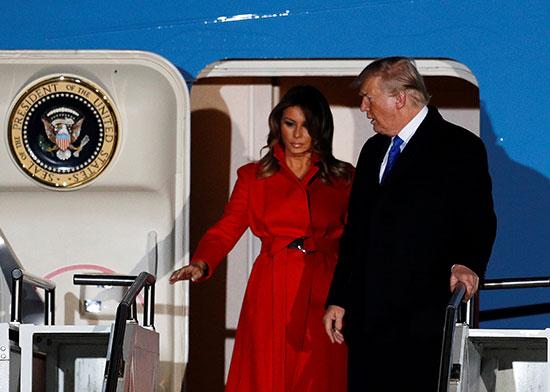 الرئيس الأمريكى وقرينته