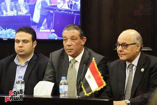 الجلسة الثانية للحوار الوطنى للأحزاب المصرية (17)