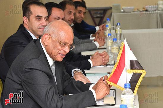 عبد العال يلتقى رئيس المجلس التشريعى الانتقالى بالإنابة بجنوب السودان (5)