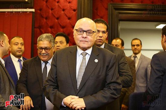 الجلسة الثانية للحوار الوطنى للأحزاب المصرية (33)