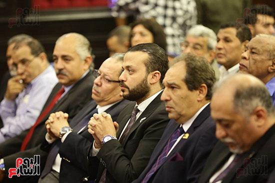 الجلسة الثانية للحوار الوطنى للأحزاب المصرية (19)