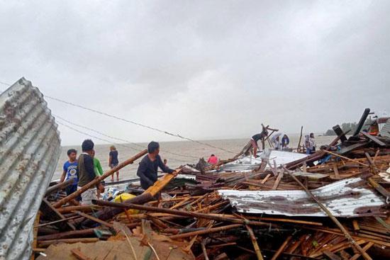 أثار-إعصار-الفلبين