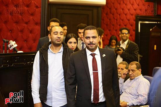 الجلسة الثانية للحوار الوطنى للأحزاب المصرية (35)
