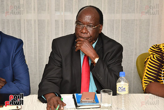 عبد العال يلتقى رئيس المجلس التشريعى الانتقالى بالإنابة بجنوب السودان (8)