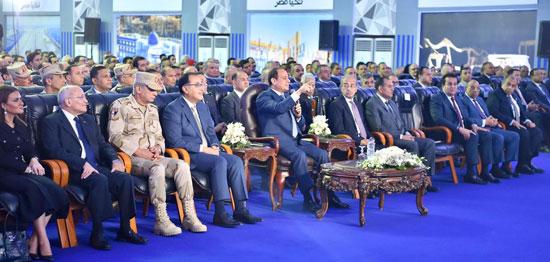 السيسي في افتتاح مدينة دمياط للأثاث ومشروعات قومية (2)