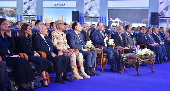 السيسي في افتتاح مدينة دمياط للأثاث ومشروعات قومية (3)