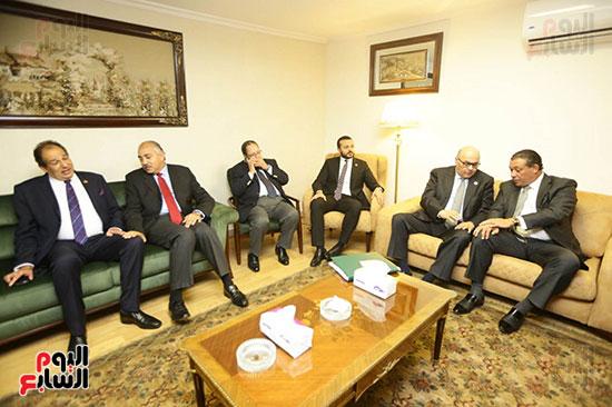 الجلسة الثانية للحوار الوطنى للأحزاب المصرية (29)