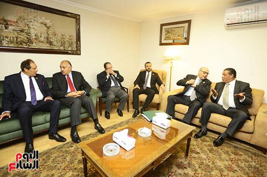 الجلسة الثانية للحوار الوطنى للأحزاب المصرية (31)