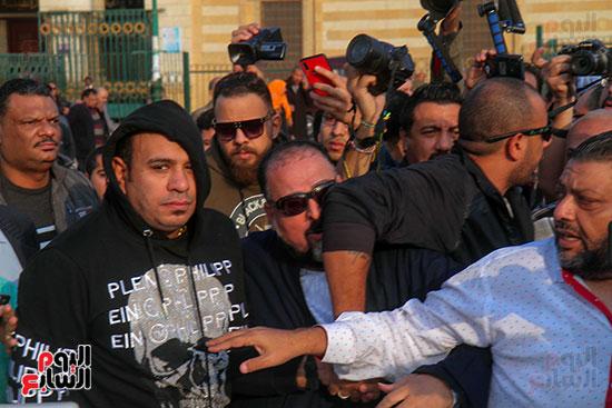 تشييع جثمان شعبان عبد الرحيم (11)