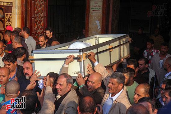 تشييع جثمان شعبان عبد الرحيم (5)