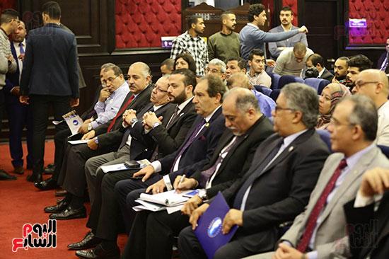 الجلسة الثانية للحوار الوطنى للأحزاب المصرية (18)
