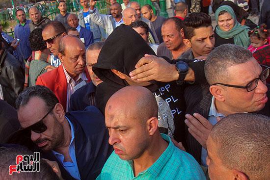 تشييع جثمان شعبان عبد الرحيم (10)