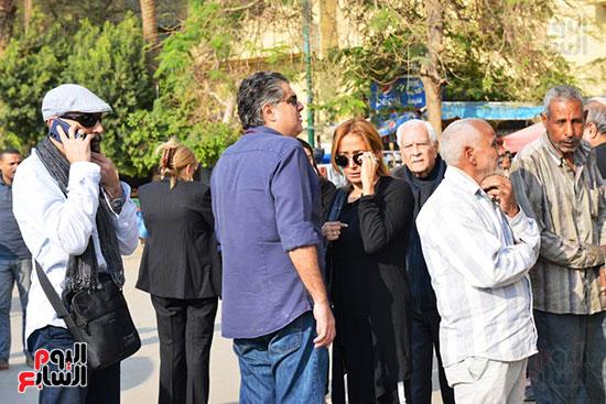 جنازة الفنان الراحل شعبان عبد الرحيم