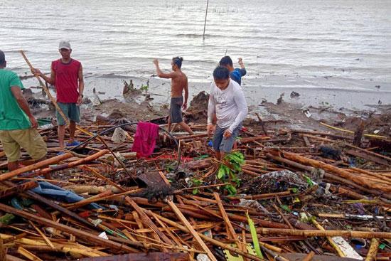 أثار-إعصار-كامورى-فى-الفلبين