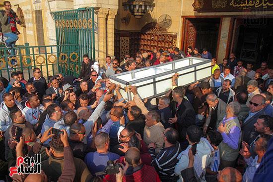تشييع جثمان شعبان عبد الرحيم (6)