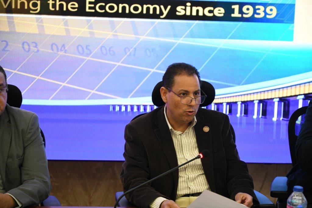 محمد عمران رئيس الهيئة العامة للرقابة المالية
