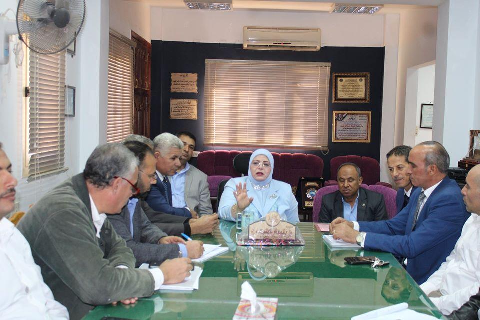 اجتماع وكيل تعليم كفر الشيخ (1)