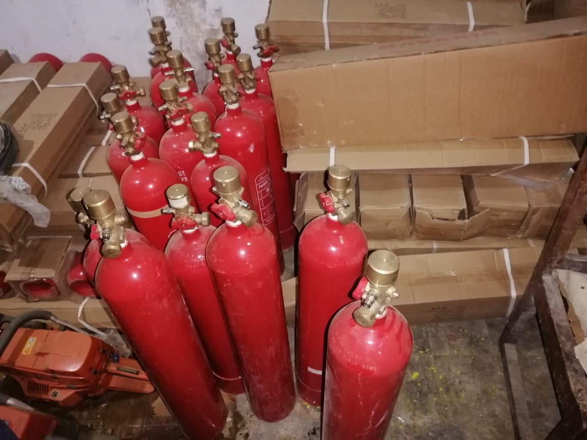 التموين مصنع طفايات حريق2