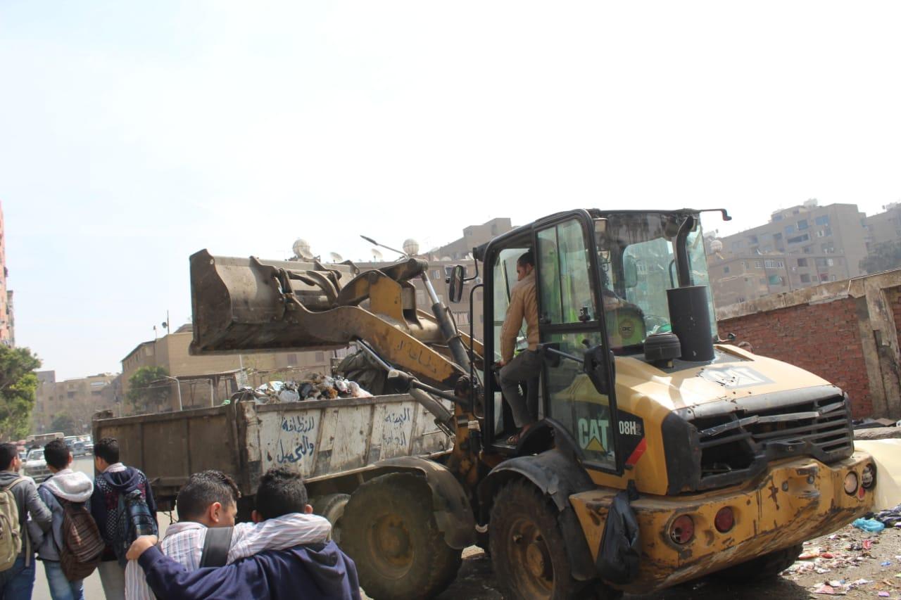 رفع القمامة ببولاق الدكرور (3)