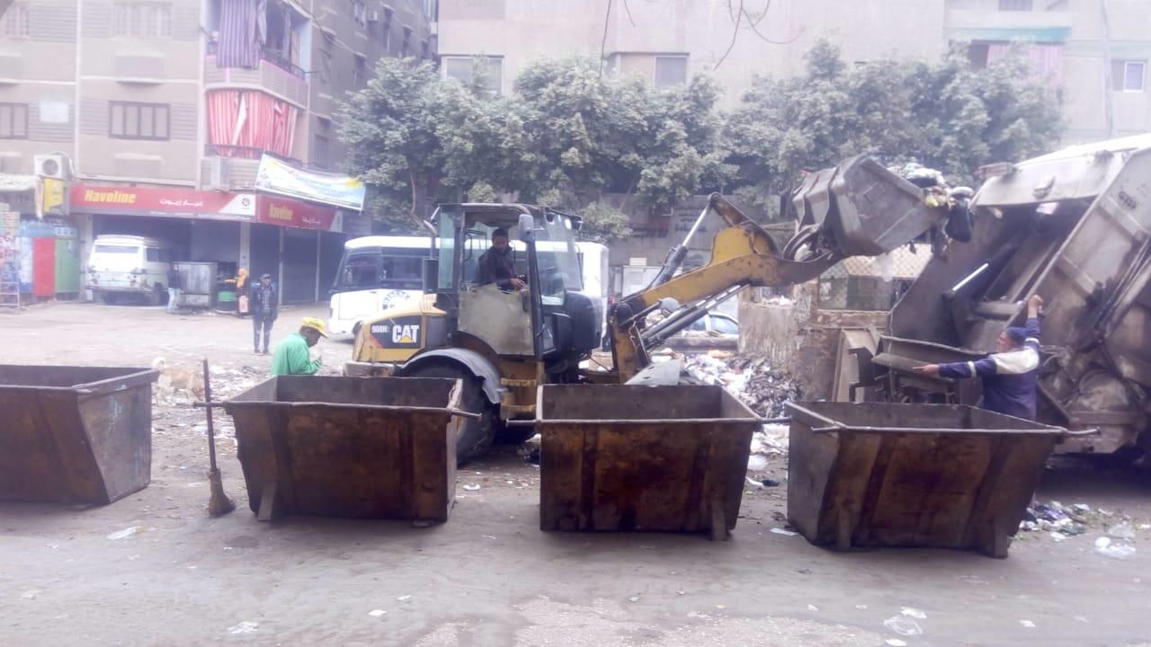 رفع القمامة ببولاق الدكرور (10)